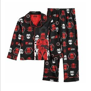 Star Wars Sith 2- Piece Pajamas Set - Size 12